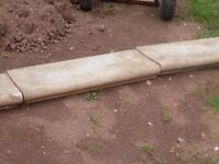 4 Garden Edging Slabs