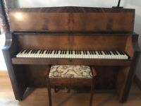 Upright Bentley piano