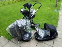 Britax travel system, car seat , pushchair, basket , ect