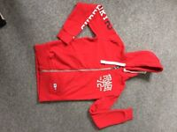 SUPERDRY Red Hoodie - brand new with tags