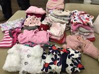 Beautiful big bundle of 0-3m baby girl clothes