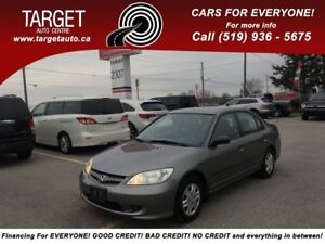 2004 Honda Civic SE, Low Kms, Drives Great, Very Clean !!!