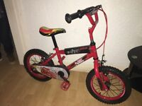 Disney cars kids bike age 2-6 years