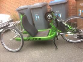 Quickie Shark hand bike