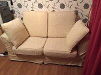 Next 2 Seater Sprung Sofa Bed.