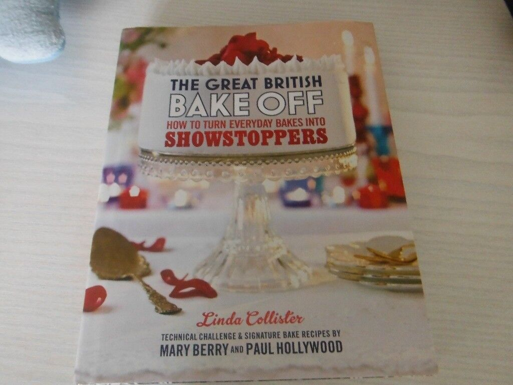 Mary Berry Great British Bake off- new
