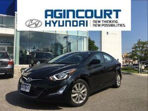 2016 Hyundai Elantra Sport/SUNROOF/BACKUP CAM/ALLOYS/OFF LEASE
