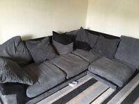 Dylan Corner sofa + 2 seater sofa + setty