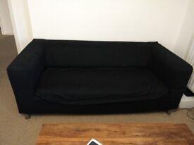 Ikea Klippan Black sofa