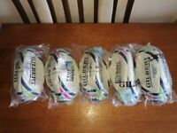 5x Gilbert size 5 2015 rugby balls. BRAND NEW