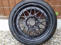 BBS 17inch Alloy with Tyre