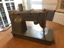 Vintage 1960's Rare Singer 328K Sewing Machine - Fully Serviced (2017) + Case