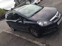 06 new shape Vauxhall zafira 7 seater