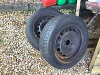 Two wheels/tyres 175/65r14