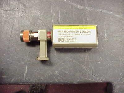 Agilent Hp Keysight R8486d Thermocouple Waveguide Power Sensor 26.5 Ghz To 40