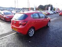 Vauxhall Corsa SRI ECOFLEX (red) 2017-01-11