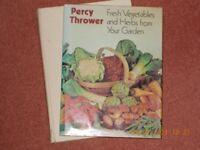 Percy Thrower 2 Gardening Books