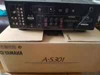 Amplifier and Sub woofer incl extended warranty until 2021