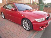 BMW 330ci, Manual, Imola red