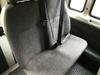 Transit seats MK6 - 3 double 3 single - very clean - no wear