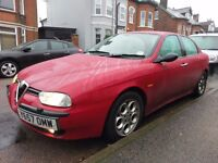 Much loved Alfa Romeo 156 2.0 Twinspark Veloce for sale