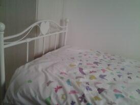 Girls White Single Bed