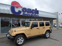 2014 Jeep Wrangler Unlimited Sahara, 16,612 KMS, Desert Color