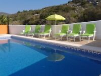 SUPERB SPANISH VILLA WITH PRIVATE POOL AND GARDENS SITUATED ON THE COAST OF THE COSTA AZAHAR