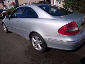 CLK 200 Mercedes 1.8 Petrol - 2006 £1850