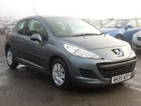 2010 peugeot 207 1.4 petrol s low miles, motd march 2018 all cards welcome