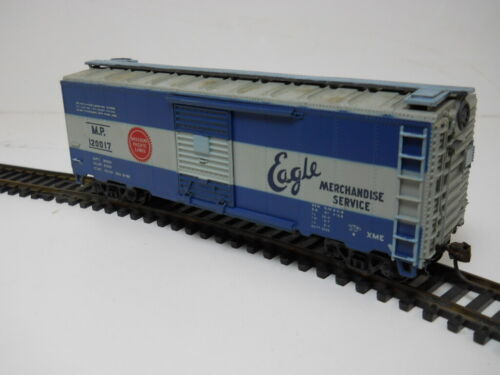 Missouri Pacific #120017 40ft Box Car HO 1/87 KDs  Weathered Superdetail