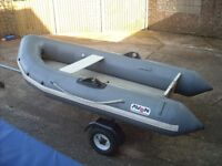 AVON ROVER 310 RIB and OUTBOARD