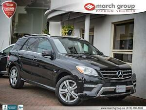 2012 Mercedes-Benz ML350 BlueTEC 4MATIC Designo Leather