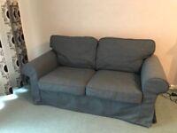 Two-seat sofa EKTORP from IKEA .
