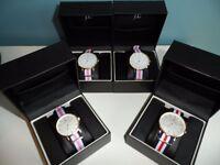 Job Lot Jacob Ekland Malmo Designer Watches Bnib x4 rrp £249 each