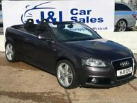 AUDI A3 2.0 TFSI S LINE 2d AUTO 197 BHP A GREAT EXAMPLE INSIDE AND OUT (grey) 2011