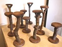 Hat and Jewellery wooden stands