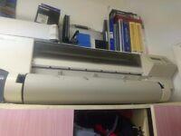 hp designjet 600 large format printer/plotter