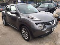 Nissan Juke 1.5 dCi Tekna 5dr (start/stop) FREE WARRANTY, HPI CLEAR, FINANCE AVAILABLE, P/X WELCOME
