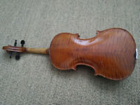 Violin English made