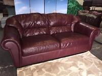 Leather sofa 3 Seater Real Leather Sofa