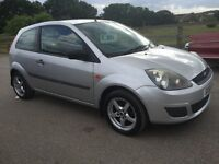 2006 ford fiesta 1.25 STYLE CLIMATE, only 81k miles, mot march 2017,Full service history