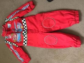 Disney Store Cars Racesuit
