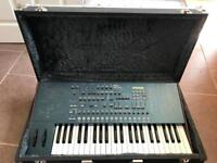 Classic Korg MS2000 Analogue Modelling synth with custom flight case