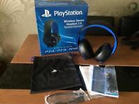 Sony PlayStation wireless headphones