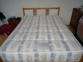 double mattress, bought 4 months ago!