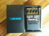 Boss RV6 reverb pedal new