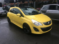 BREAKING - VAUXHALL CORSA D - FACELIFT FRONT BUMPER - YELLOW Z40Q - ALL PARTS AVAILABLE