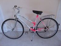 "Classic/Vintage/Retro Raleigh Chloe 19"" Hybrid/Town/Commuter Bike"