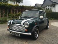 Classic Rover Mini Cooper 1.3i SPI 1995 restored back to bare metal